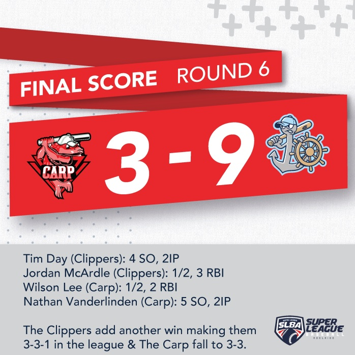 CLIPPERS @ CARP R6